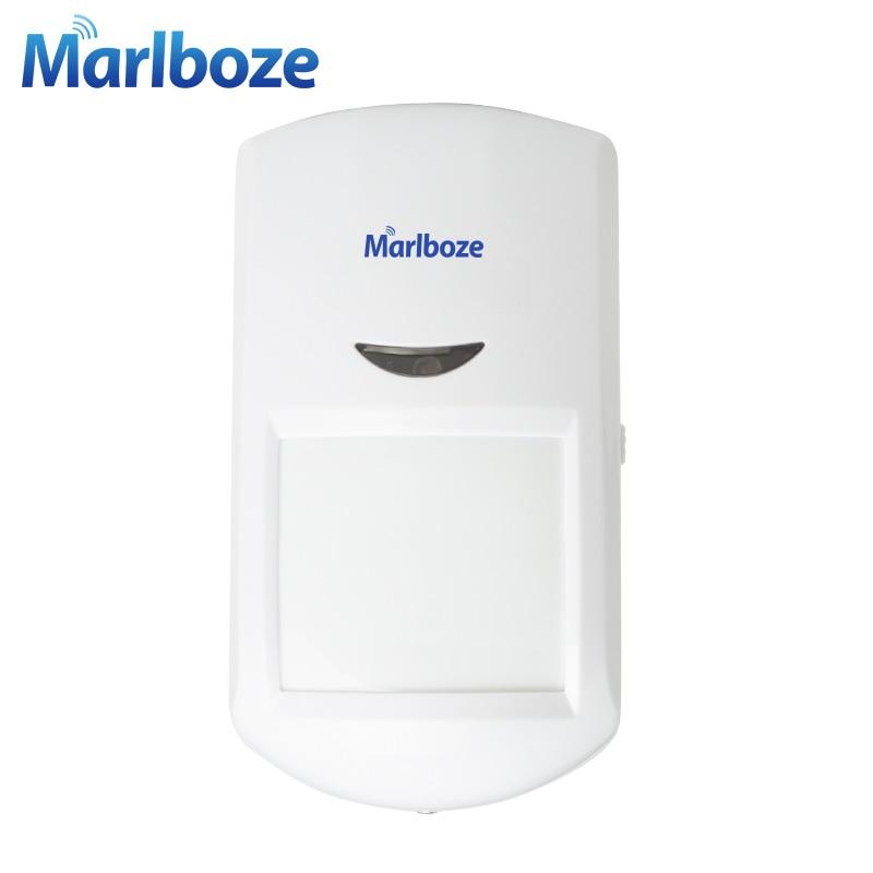 Livraison gratuite 1 Pcs 433 MHz Sans Fil détecteur Infrarouge Passif PIR Motion Sensor pour G11 PG500 de D'accueil Du Système D'alarme