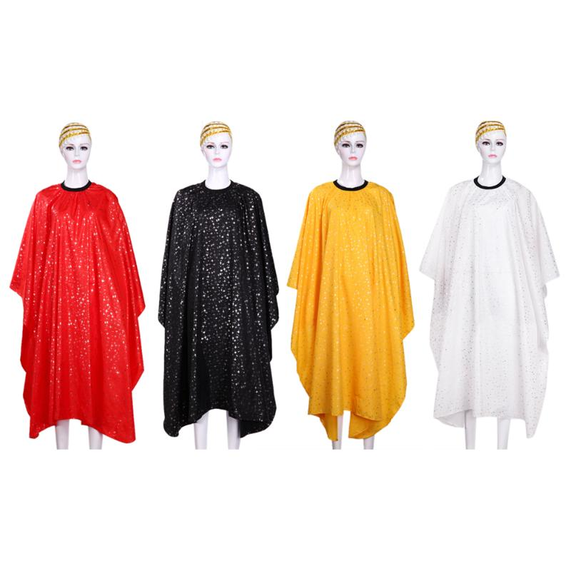 Hairdressing Cape For Barber Hair Cutting Styling Salon Apron Professional Hairdresser Style Cutter Wrap Capes Gown Cloth Tool salon professional hair styling cape adult hair cutting coloring styling cape hairdresser wai cloth barber fashion pattern capes