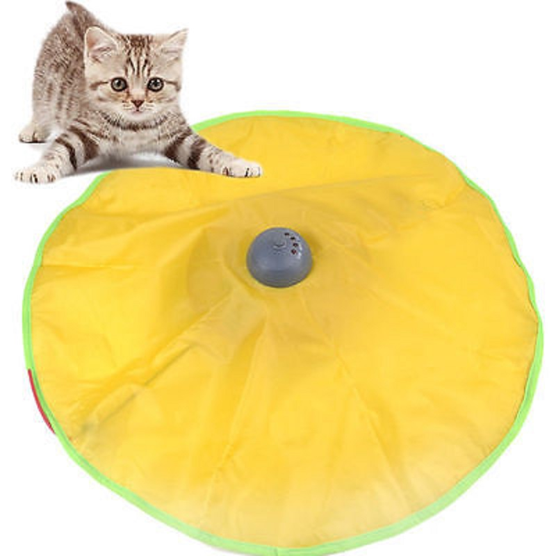 Pet Cat' Meow Toy Electronic V4 Interactive Undercover