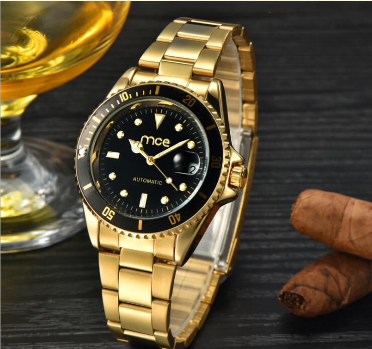 купить New Men Full-automatic Mechanical Watch Tourbillon Luxury Fashion Brand Genuine Automatic mechanical watch calendar strip watch по цене 4035.65 рублей