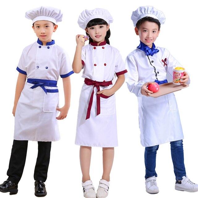children Kindergarten game cosplay costume School Game Costume kids chef uniform child kitchen Cooking wear Clothing  sc 1 st  AliExpress.com & children Kindergarten game cosplay costume School Game Costume kids ...