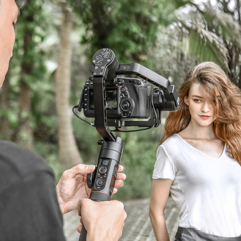 Zhiyun Official Crane 2 3 Axis Camera Stabilizer For All Models Of DSLR Mirrorless Camera Canon
