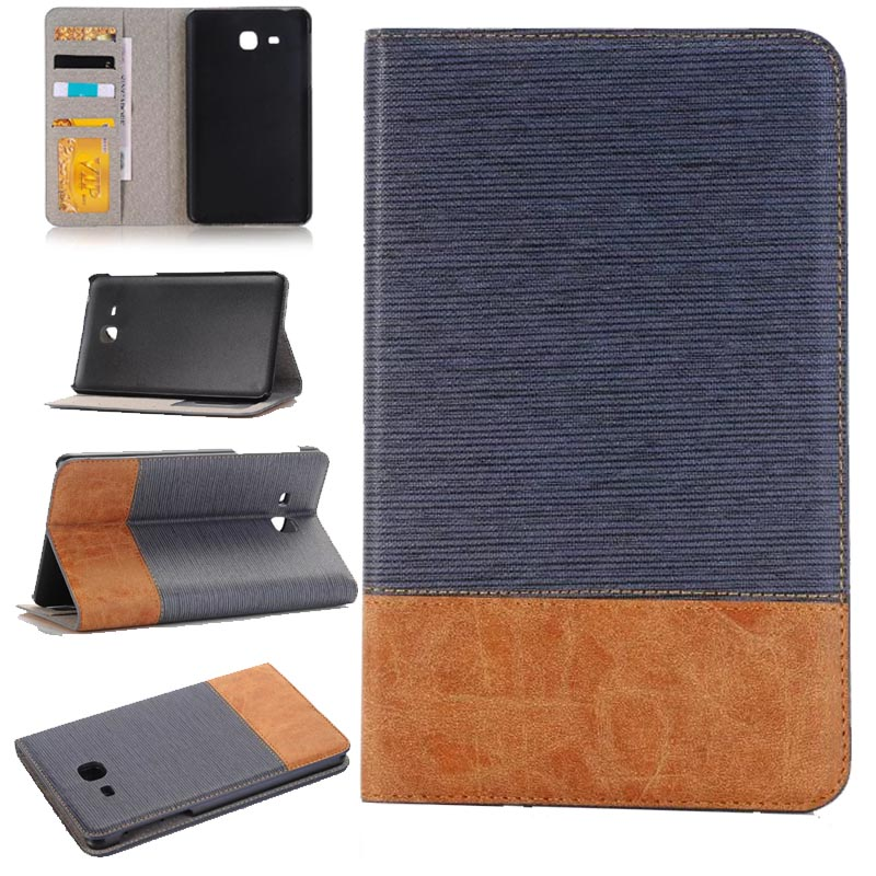 Stylus + film + Tab a6 7.0 cover high quality luxury fashion pu Leather case for Samsung Galaxy Tab A 7.0 2016 T280 T285 Covers keymao luxury flip leather case for samsung galaxy s7 edge