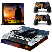 Vinyl Decals Skin Sticker Cover for PS4 Playstations 2 Controllers Sticker–STAR WARS BATTLEFRONT