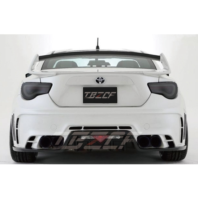 Alerón estilo ROWEN GT86/BRZ para Toyota 86/BRZ TOMMYKAIRA alerón de maletero de fibra y carbono