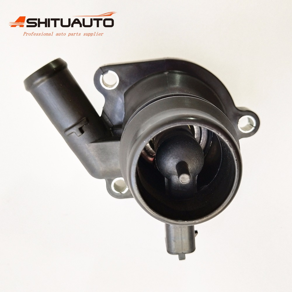 1.4Turbo Engine Cooling Thermostat For Chevrolet Aveo Cruze Orlando Trax Opel Astra J 1.4T 0EM#55579010 55593034 1338031 1338251