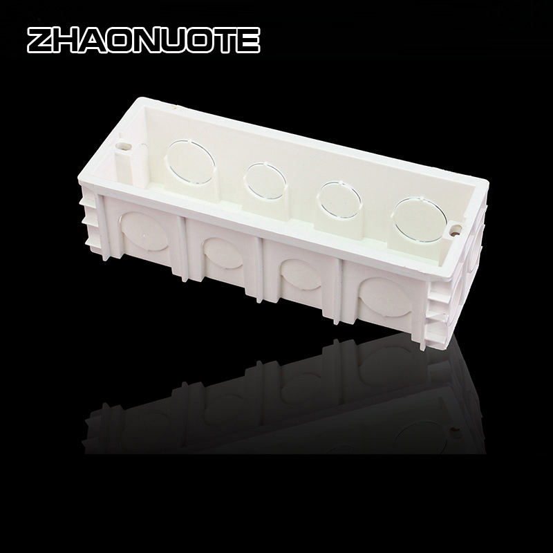 5pcs 118 Type Pvc Plastic Junction Box For Household Power