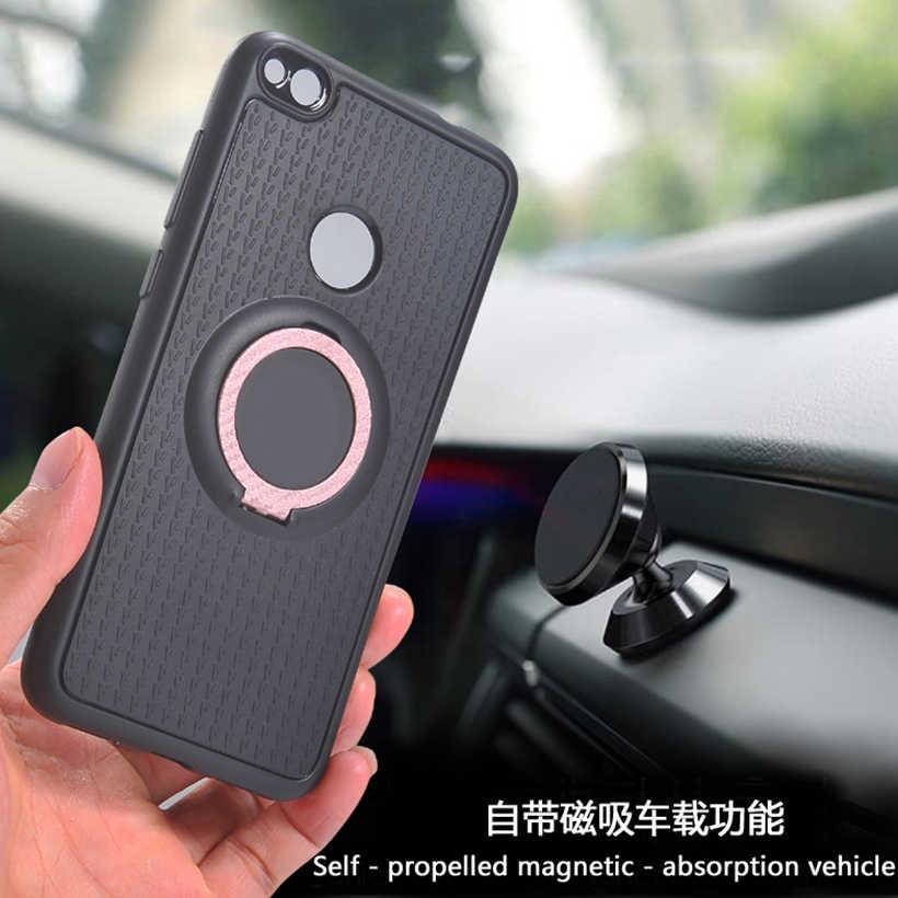 Cover voor Huawei P Smart 2019 Nova 3i 3 3E 2i 2 S 2 Lite P8 Lite 2017 P9 P10 plus P20 P30 Pro Magnetische Ring Case voor Auto Houder