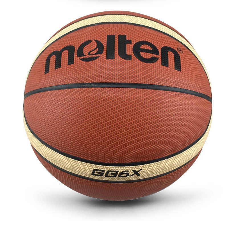 Nueva marca de pelotas de baloncesto para mujer GW6/GW6X/GG6X de alta calidad de cuero de PU para exterior tamaño interior 6 baloncesto bola con aguja + bolsa