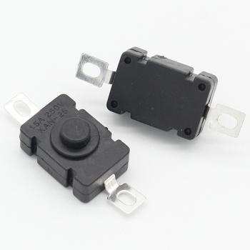 10 sztuk KAN-28 1 5A250V latarka przełączniki samozamykające typ SMD 18x12mm Push przełączniki przyciskowe 1812-28A tanie i dobre opinie ELECAPITAL 18 x 12mm 2 years Przełącznik Wciskany