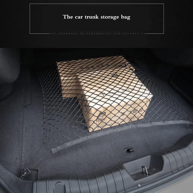 Budget Car Trunk Nets Nylon Luggage Mesh Storage Organizer Bag 4