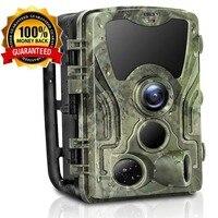 Hunter Camera 16MP Hunting Camera 1080P Trail Camera IP65 Photo Traps 0.3s Trigger Time 850nm Wild Cameras Night Vision For Hunt