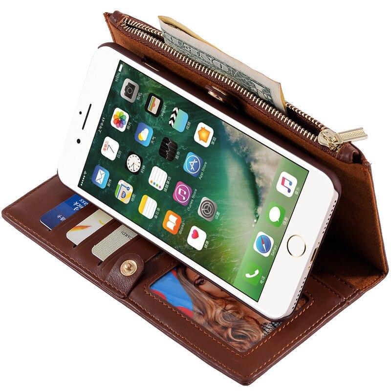 bilder für Luxus Ledertasche Für Samsung Galaxy S7 kante Anmerkung 7 Brieftasche Für Samsung Galaxy S6 Kanten Cases Mit Karte halter