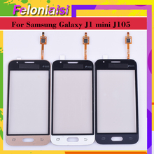 купить 10pcs/lot For Samsung Galaxy J1 mini J105 J105H J105F J105B J105M SM-J105F Touch Screen Panel Sensor Digitizer Glass Touch дешево