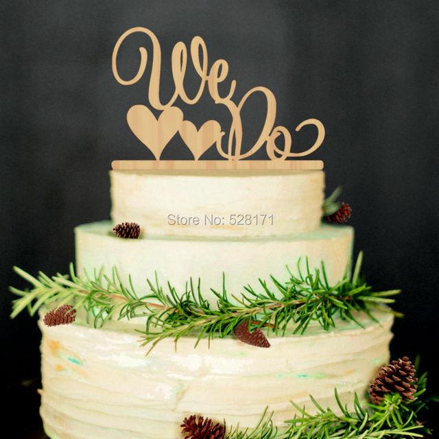 Freies Verschiffen Umweltfreundliche Wir Tun Holz Hochzeitstorte
