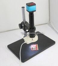 14MP HDMI USB Цифровой Индустрии Видео Микроскоп Камера Set + Большой Настольная Подставка + 300X Креплением c-mount для ПЕЧАТНОЙ ПЛАТЫ телефона ремонт