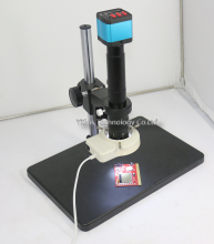14MP HDMI USB Digital Industry Video Microscope Camera Set + Big Stand Table+300X C-MOUNT Lens for PCB phone repair
