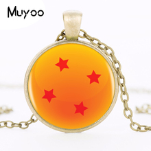 Dragon Ball Z 4 Star Logo Pendant Necklace