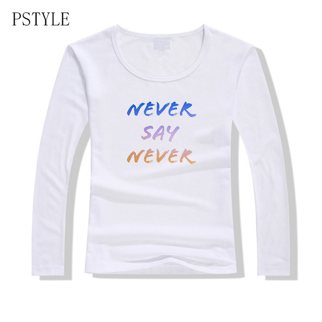 T Shirt Women Never Give Up...