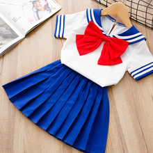 Baby girl clothes in childrens clothing set bows sunshine girls suit short sleeve cute baby