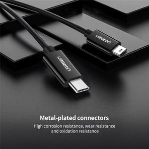 Image 5 - Ugreen USB C to Mini USB Cable Thunderbolt 3 Mini USB Type C Adapter for MacBook pro Digital Camera MP3 Player HDD Type c Cable