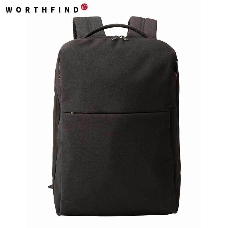 WORTHFIND Nylon Backpack Men Travel Bags Female Waterproof Anti-theft  Computer Laptop Backpacks for 15.6 Laptop