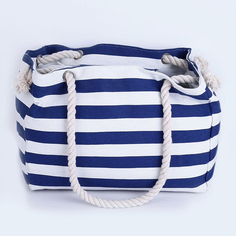 Women Summer Beach Shoulder Bag Handbag Hobo Canvas Shopping Tote Zipper Large !