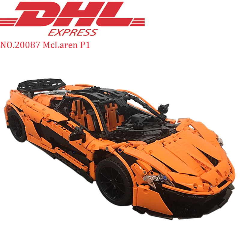 Lepin 20087 Technic MOC 10915 McLaren P1 Hypercar 1 8 Racing Car Set Compatible Legoing Model