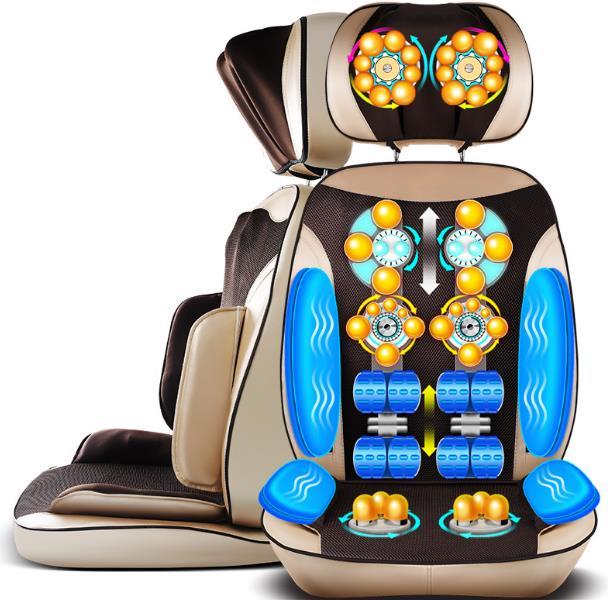 Poltrone da massaggio, 220 v domestici auto del corpo più piccolo impastamento di massaggio cuscino sedia di vertebra cervicale di vita della spalla del collo