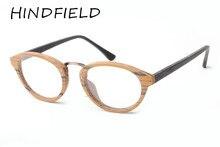 HINDFIELD 2017 Moda Unisex Gafas Ópticas Marco Redondo Marco de Las Lentes Eyewear gafas de sol mujer