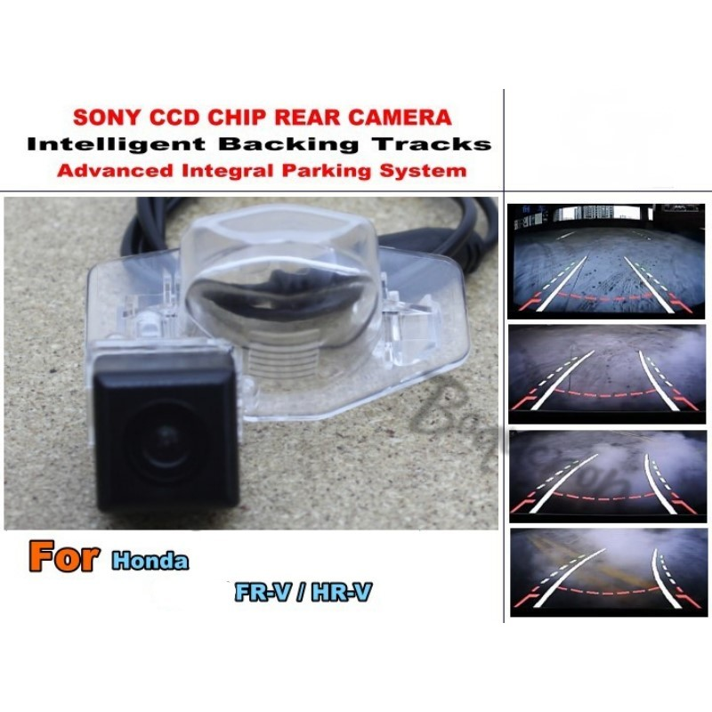 For Honda FR-V FRV / MR-V MRV Smart Tracks Chip Camera / HD CCD Intelligent Dynamic Parking Car Rear View Camera for mazda cx 3 cx 3 cx3 2014 2015 smart tracks chip camera hd ccd intelligent dynamic parking car rear view camera