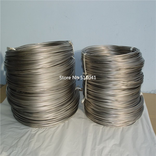 Ti titanium metal rod wire CP-1 Gr1 Grade 1 titanium Wire diameter 0.2mm 1kg wholesale price Paypal is available gr1 titanium metal foil grade1 titanium strip 0 07mm 303mm