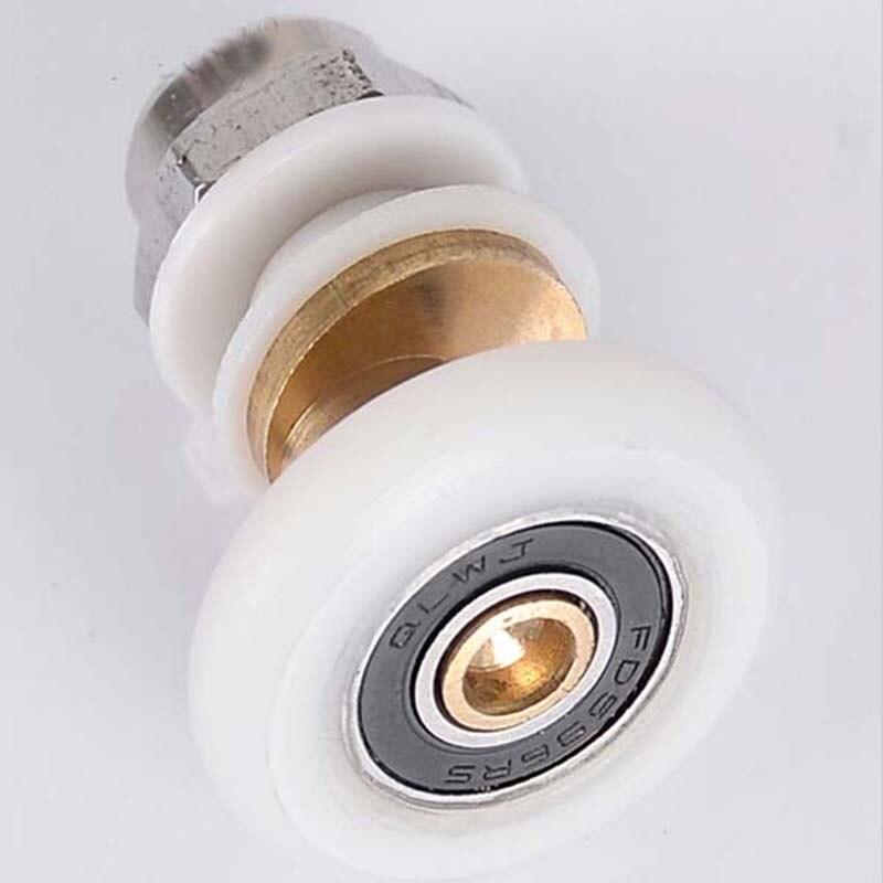 1PCS Sliding Door Roller Runner Shower Room Wheel Shower Bathroom Parts Glass Sliding Door Pulley Sliding Bearing Fittings CP190