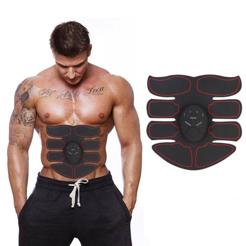 Abdominal Muscle Trainer Machine Electric Massage Stimulator Body Building Tools