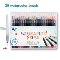 20 color premium painting soft brush pen set watercolor art markers pen effect best for manga.jpg 200x200