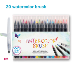 20 color premium painting soft brush pen set watercolor art markers pen effect best for manga.jpg 250x250