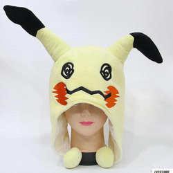 Горячие Mimikyu Плюшевые Hat Косплэй теплые Кепки японского аниме мультфильм подарок
