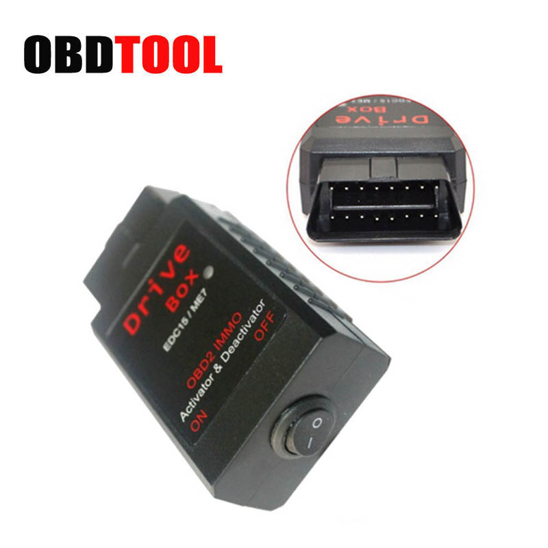 VAG Drive Box For Bosch EDC15/ME7 OBD2 IMMO Deactivator Activator Drive Box for Diesel Patrol Engines Auto Scan Tool JC10