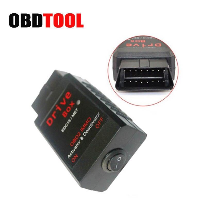 Деактиватор VAG IMMO для AUDI для Skoda EDC15/ME7 VAG привод OBD2 OBD 2 IMMO Деактиватор активатор Автомобильный сканер