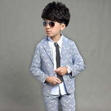 Gentleman Suit for Boy Single Breasted Suits