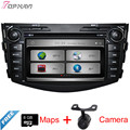 7'' Two Din Wince Car Stereo For Toyota RAV4 2006 2007 2008 2009 2010 2011 2012 With DVD Radio GPS Map Bluetooth Free Shipping
