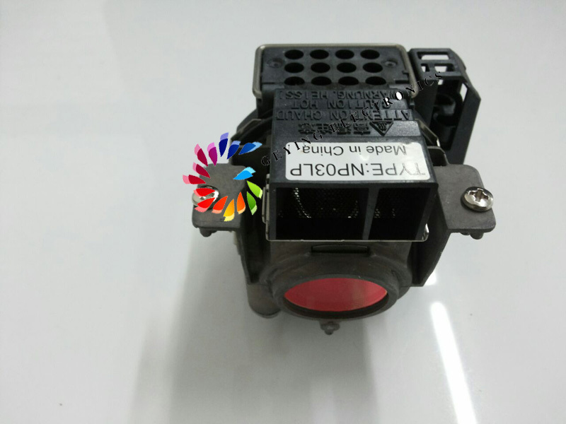 New ORIGINAL Projector Lamp with housing NP03LP 50031756 / UHP200/150 for NP60 new original lamp model 456 8949h 4568949h with housing for dukane imagepro 8949h dlp lcd projector