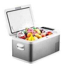 18L DC 24V 12V автомобильный холодильник с морозильной камерой портативный автомобильный холодильник Компрессор AC 100-240V для автомобиля домашнего охлаждения