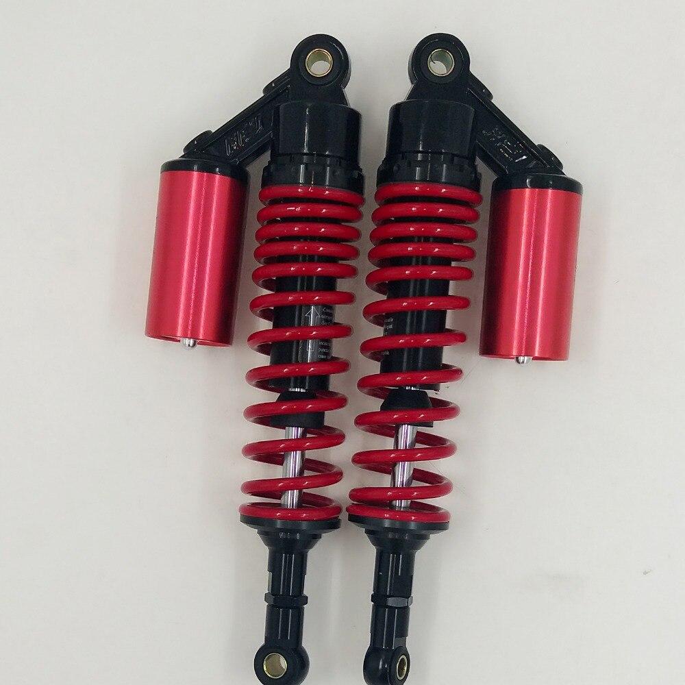 330mm USIVERSAL 7MM SPRING REAR AIR NITROGEN SHOCK ABSORBERS FOR HONDA CB400 SF CB400 VTEC RED