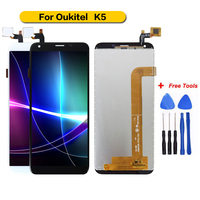 100% Tested For Oukitel K5 Display+Touch Screen Assembly Screen For Oukitel K5 with Free Tools