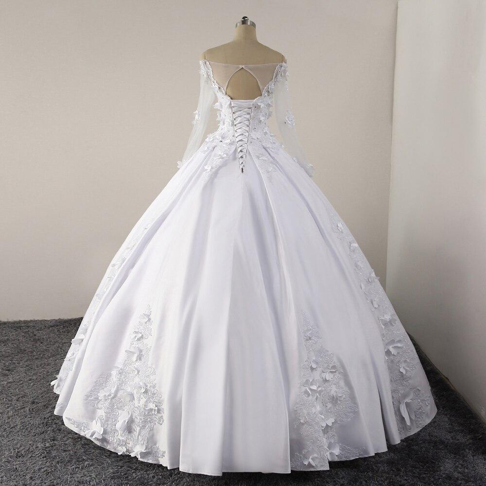 yiwumensa Vintage Wedding dresses vestidos de noiva White Lace up ...