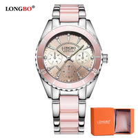 LONGBO Luxury Brand Fashion Women Watch Ladies Quartz Watches Lady Wrist Watch Relogio Feminino Analog Clock