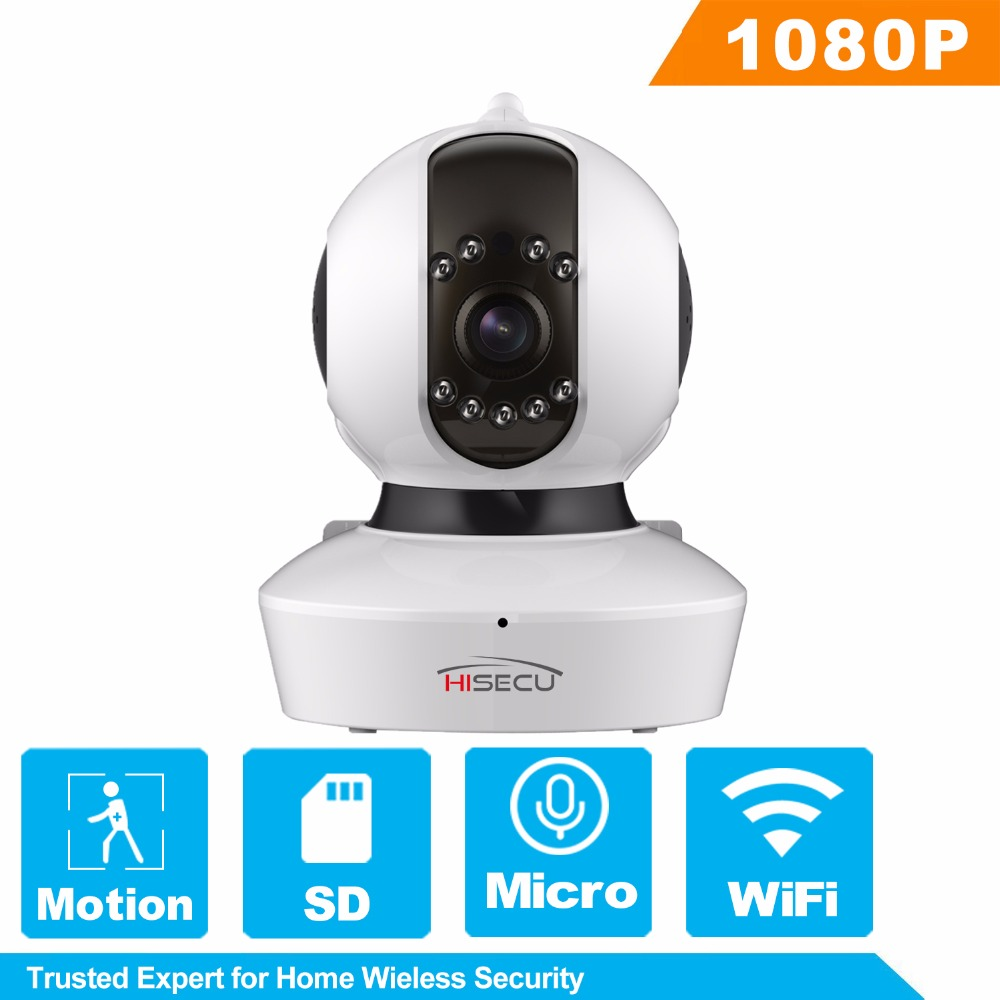 HiSecu 720P IP Camera WiFi Home Security Camera Night Vision Infrared Two Way Audio Baby Monitor hisecu home wifi ip camera night vision wireless 720p 110 two way audio video monitor smart webcam indoor security camera