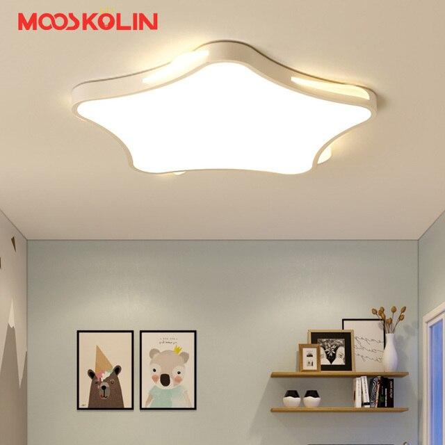 US $71.18 45% OFF Kids room lighting ceiling lamp children room Bedroom  Living room luminaria led modern Acrylic ceiling lights for children  room-in ...