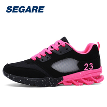 Women Breathable Sports Shoes Trail Running Shoes Outdoor Athletic Shoes Women Trainers Air Mesh Sneakers